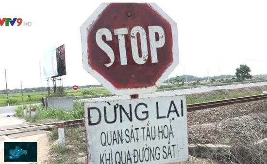 Ám ảnh tai nạn tại tuyến đường ngang ở Quảng Ngãi