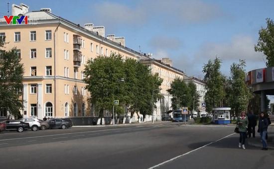 Mức phóng xạ tăng đột biến tại Severodvinsk, Nga