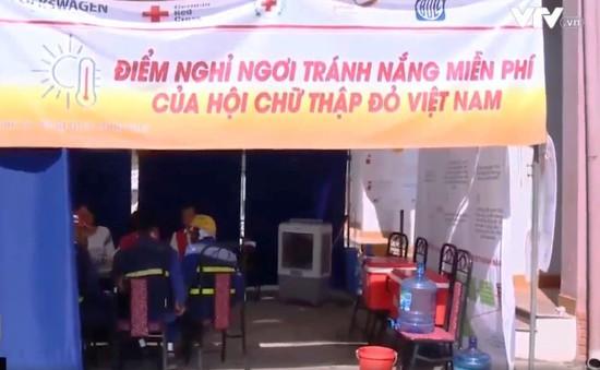 Điểm tránh nắng miễn phí cho người lao động tại Hà Nội