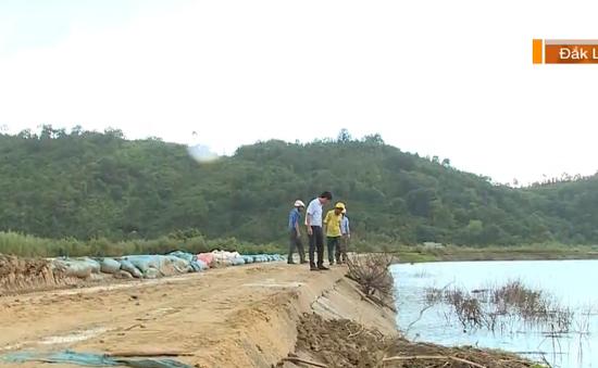 Nhiều điểm xung yếu trên tuyến đê Quảng Điền
