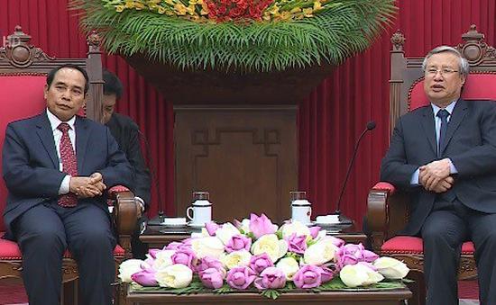 Tăng cường hợp tác Việt Nam - Lào