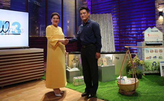 """Shark Tank Việt Nam: Shark Đỗ Liên rót 1 tỷ đồng vào """"Giải cứu rác chết"""""""