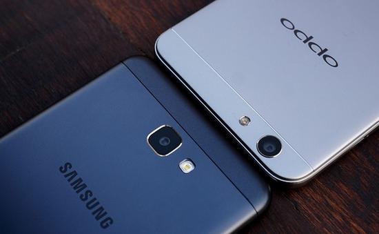 """Oppo so kè với Samsung cho """"ngôi vương"""" tại Đông Nam Á"""