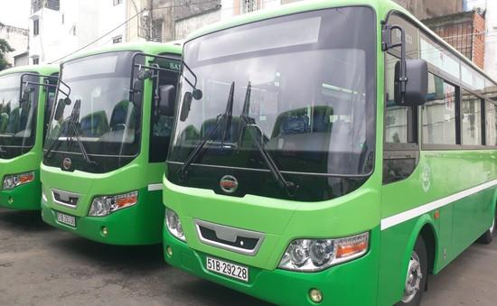 TP.HCM tăng thêm 19 xe bus mới trên tuyến trợ giá