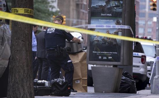 Mỹ: New York nâng cao an ninh sau vụ nồi áp suất bị bỏ lại ở nhà ga