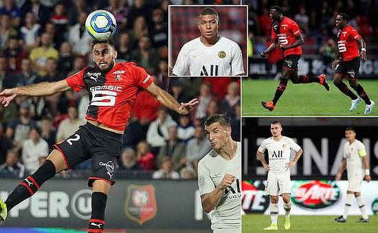 PSG bất ngờ thất bại trước Rennes tại Giải VĐQG Pháp, Ligue I