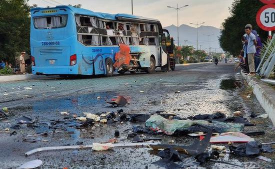 Khẩn trương điều tra nguyên nhân vụ tai nạn xe khách tại Khánh Hòa