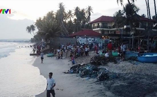Tìm thấy thi thể 4 du khách đuối nước tại Bình Thuận