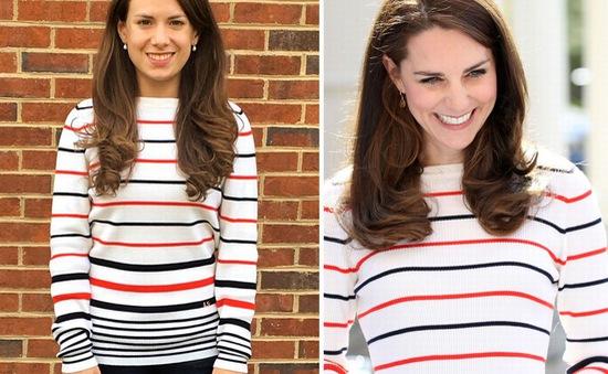 Cô gái mê mệt phong cách thời trang Công nương Kate Middleton