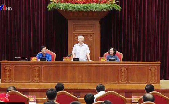 Tổng Bí thư, Chủ tịch nước Nguyễn Phú Trọng gặp mặt đảng viên trẻ tiêu biểu toàn quốc