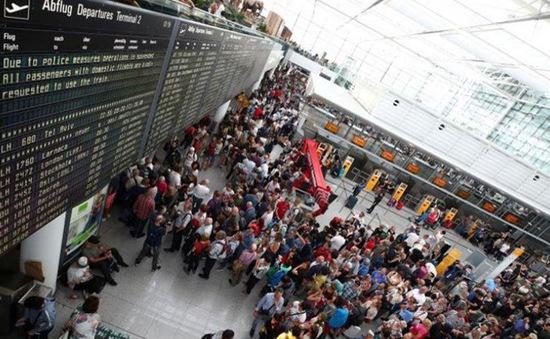 Sân bay Munich hủy 130 chuyến bay để tìm một hành khách đi lạc