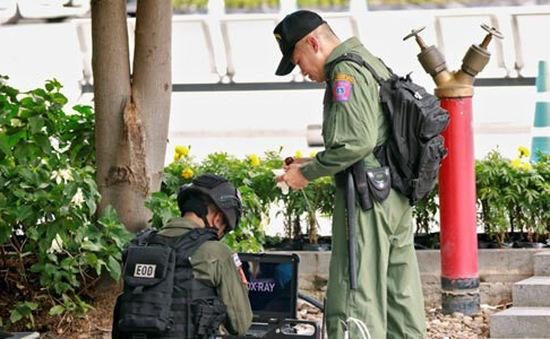 Thái Lan bắt hai nghi phạm gây ra loạt vụ đánh bom ở Bangkok