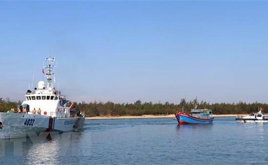 Đề nghị cứu hộ tàu cá bị trôi trên biển