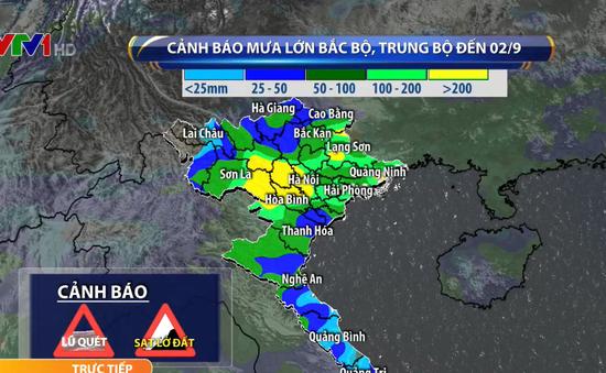 Sau bão số 4, Bắc Bộ và Trung Bộ tiếp tục có mưa trong 2 - 3 ngày tới