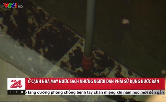 Bao giờ người dân xã Phù Đổng, huyện Gia Lâm có nước sạch để sử dụng?