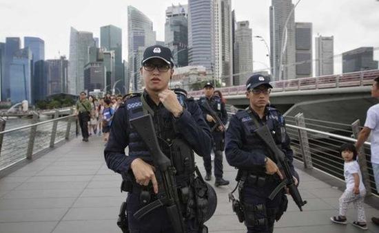 Singapore tăng cường an ninh trước ngày quốc khánh