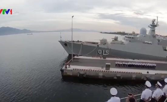 Tàu 016 Quang Trung hoàn thành nhiệm vụ đối ngoại quốc phòng