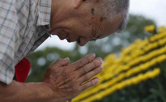 Nhật Bản tưởng niệm 74 năm vụ ném bom ở Hiroshima
