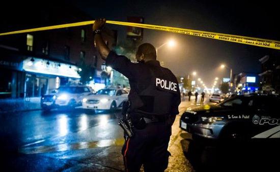 Xả súng tại hộp đêm ở Canada, 5 người bị thương
