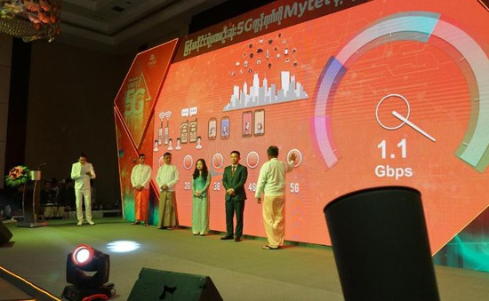 Viettel là nhà mạng đầu tiên ra mắt công nghệ 5G tại tại Myanmar