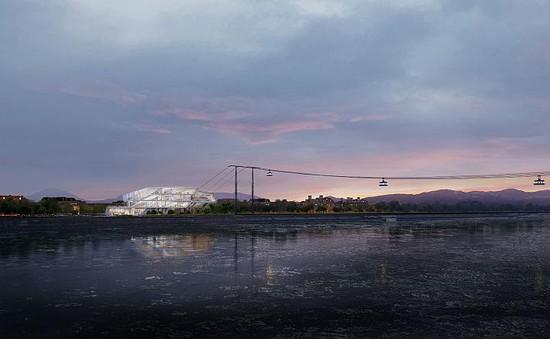 Nga - Trung Quốc triển khai dự án cáp treo xuyên quốc gia