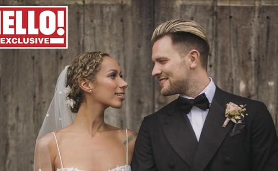 Leona Lewis hé lộ những hình ảnh chưa từng công bố trong đám cưới
