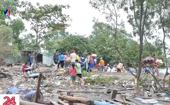 Xóm chài Vân Khánh sau cơn sóng dữ