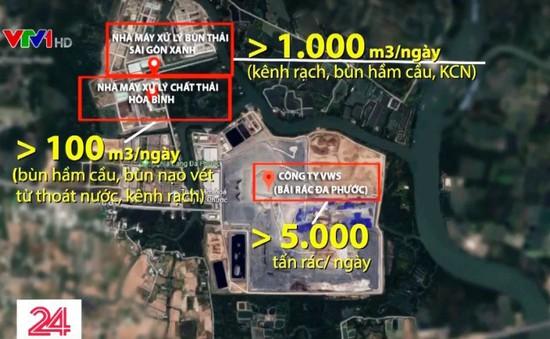 """""""Đồng phạm"""" phát tán mùi hôi ở TP.HCM không chỉ từ bãi rác Đa Phước"""