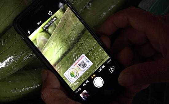 Hà Nội: Cấp mã QR cho 6.949 bộ mã truy xuất nguồn gốc nông sản
