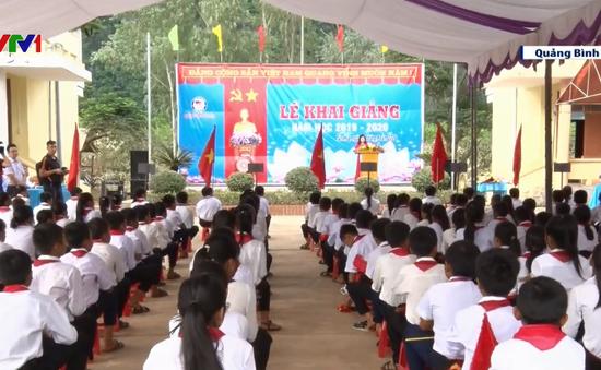 Quảng Bình hoàn thành khai giảng sau mưa lũ
