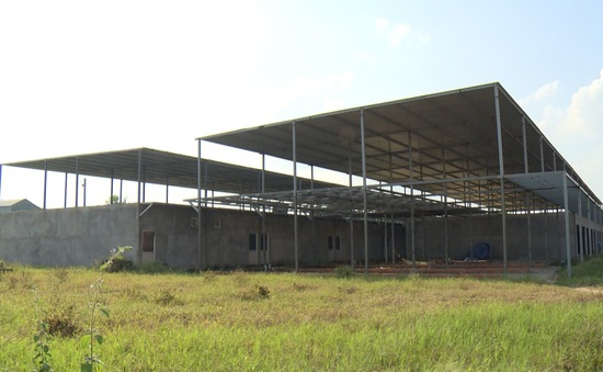 Khu tái định cư cho người dân vùng sạt lở bị bỏ hoang