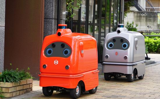 Thiếu hụt lao động, Nhật Bản cho ra đời robot giao hàng