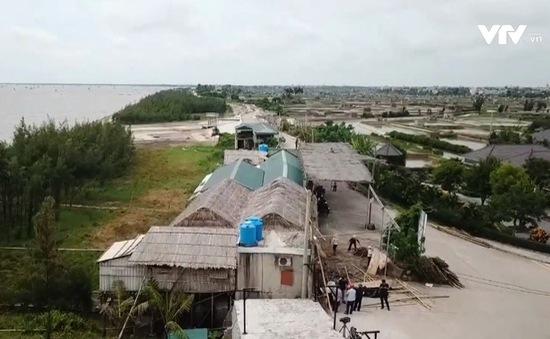 Tràn lan tình trạng vi phạm đê điều ở Tiền Hải, Thái Bình