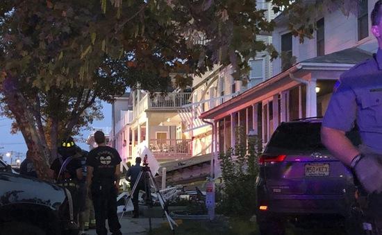 Sập ban công khiến ít nhất 22 người bị thương ở Mỹ