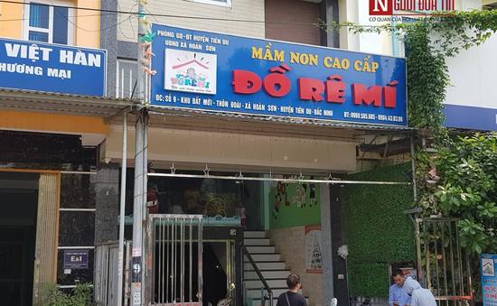 Diễn biễn vụ việc bỏ quên trẻ mầm non trên xe ô tô tại Bắc Ninh