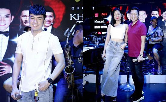 Đan Trường, Lệ Quyên diện đồ trẻ trung đến tập liveshow của Quang Hà
