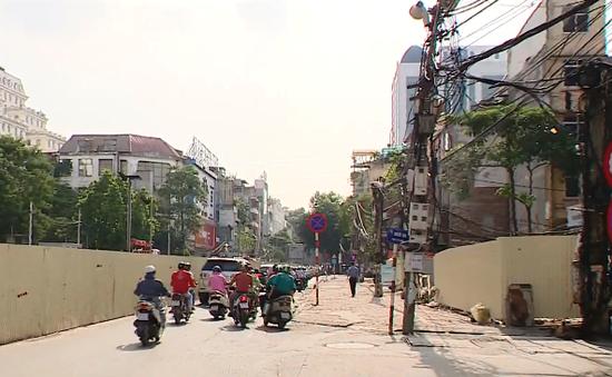 Đường sắt Nhổn - Ga Hà Nội có nguy cơ chậm tiến độ kéo dài