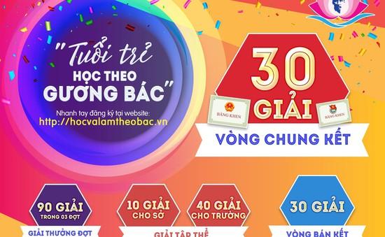 Công bố 30 thí sinh dẫn đầu cuộc thi Tuổi trẻ học tập và làm theo tư tưởng, đạo đức, phong cách Hồ Chí Minh năm 2019