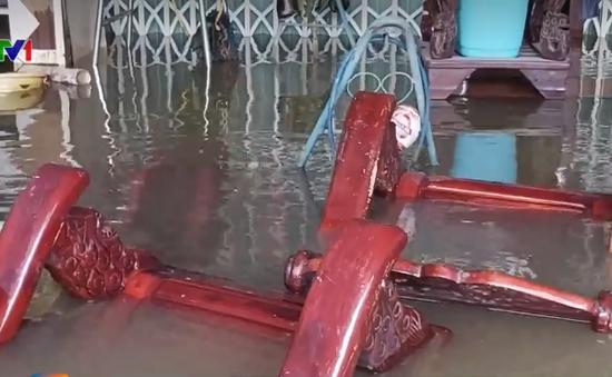 Phú Quốc lại ngập do mưa lớn