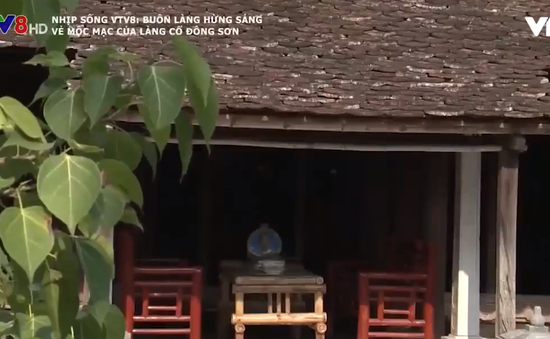 Vẻ mộc mạc của làng cổ Đông Sơn