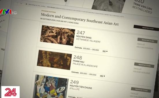 Nghi vấn tranh giả trên sàn đấu giá tranh Sotheby's