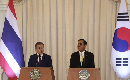 Tổng thống Hàn Quốc công du Đông Nam Á