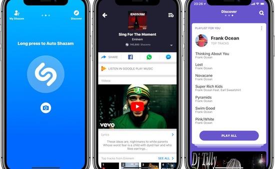Shazam hỗ trợ tính năng điều hướng đa điểm trên iOS 13