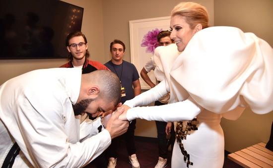Drake muốn xăm khuôn mặt Celine Dion lên cơ thể, danh ca người Canada từ chối