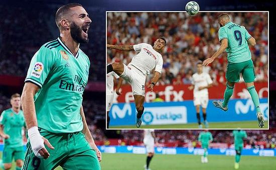 Kết quả, BXH vòng 5 VĐQG Tây Ban Nha La Liga: Real Madrid thắng nhọc nhằn Sevilla