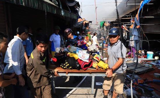 Hà Nội: Cháy lớn ở chợ Tó, Đông Anh