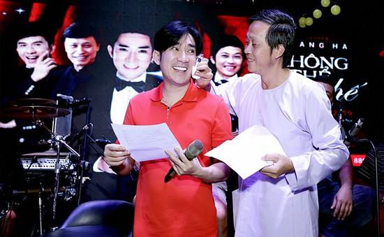 Quang Hà xúc động vì được Hoài Linh lau mồ hôi khi tập luyện