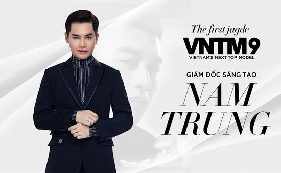 Nam Trung trở lại ghế giám khảo Vietnam's Next Top Model 2019