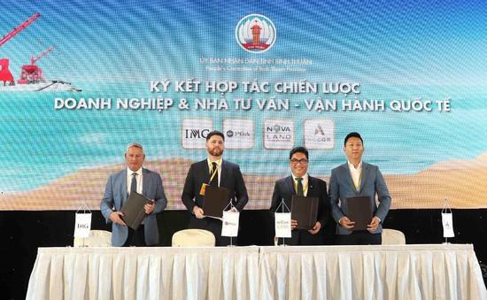 Đồng hành cùng chiến lược phát triển du lịch Bình Thuận, Novaland hợp tác chiến lược cùng đối tác quốc tế The PGA of America – IMG – Accor