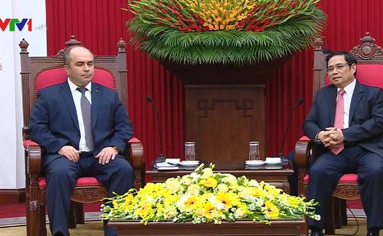 """""""Việt Nam coi trọng phát triển quan hệ hữu nghị và hợp tác với Belarus"""""""